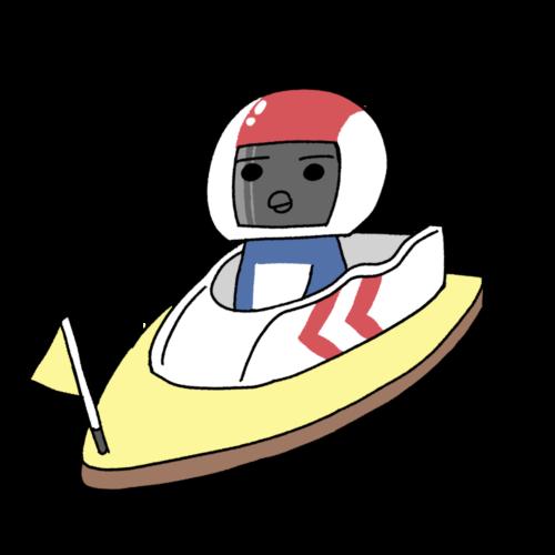 ボートレースサイトのキャラクターデザイン